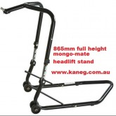 BMW S1000RR -  ADJUSTABLE HEIGHT HEAD LIFT FRONT WHEEL STAND - MONGO MATE TRIPLE TREE CLAMP FORK COBRA RACE LIFT