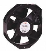 ETRI Rosenburg 148VK-0282-001 AC Axial Fan, 150x172x38mm,115VAC 50/60HZ,-10 Degree C TO +70 Degree C, Ball bearing - Post included