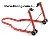 L Swingarm Adapter RED REAR STAND