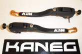 Levers KTM RC8 09-10 Orange Tip