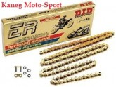 Motorcycle Race Chain DID 520 ERV3 Gold 120 link