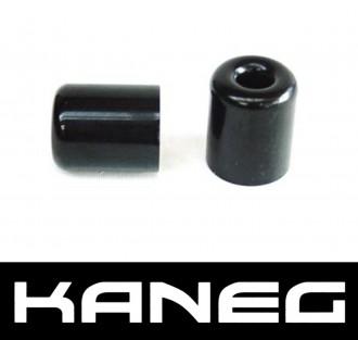 Kaneg Bar Ends - Black - Yamaha YZF600 (99-05)