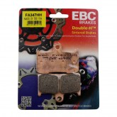 Kawasaki	Z800 2013/14 -2 Sets Req - EBC FA347HH Sintered Front Brake Pads - Includes Post