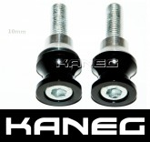 Kawasaki 10mm Black Offset Swingarm Pickup Spools