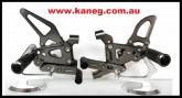 Ducati 1199 - 959 - 899 Panigali Titan (grey) Rearsets