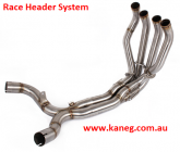 KAWASAKI 2009-15 ZX-6R ZX 636  Stainless Steel Headers with a 61mm Tail